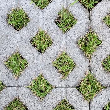 Grass Block Membuat Halaman Hijau