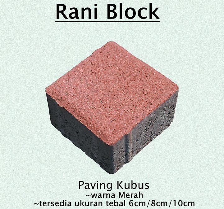 Paving Block Kuat dan Indah