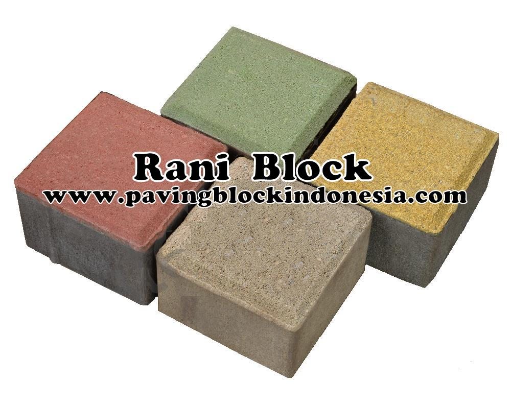 Paving Block Model Kubus