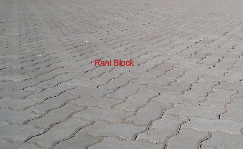 Paving Block Model Cacing (Unipave)