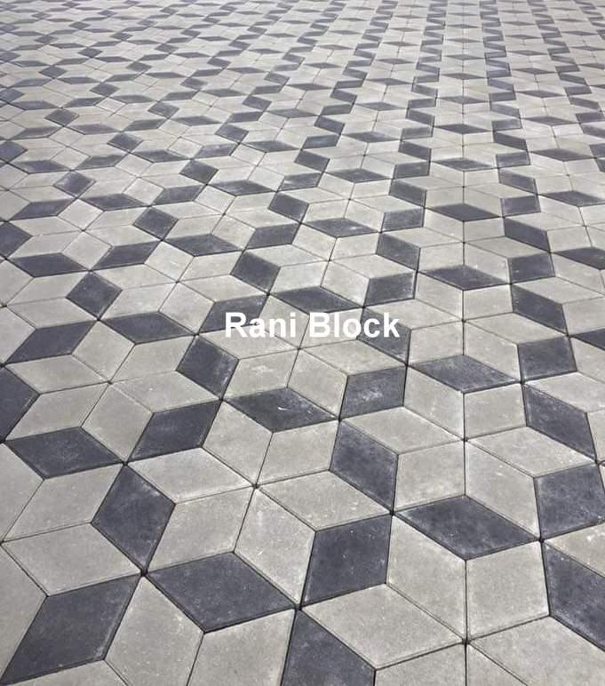 Jual paving block 3 dimensi