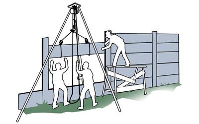 pagar panel praktis dan ekonomis