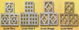 Roster Beton atau Loster Beton Rani Block