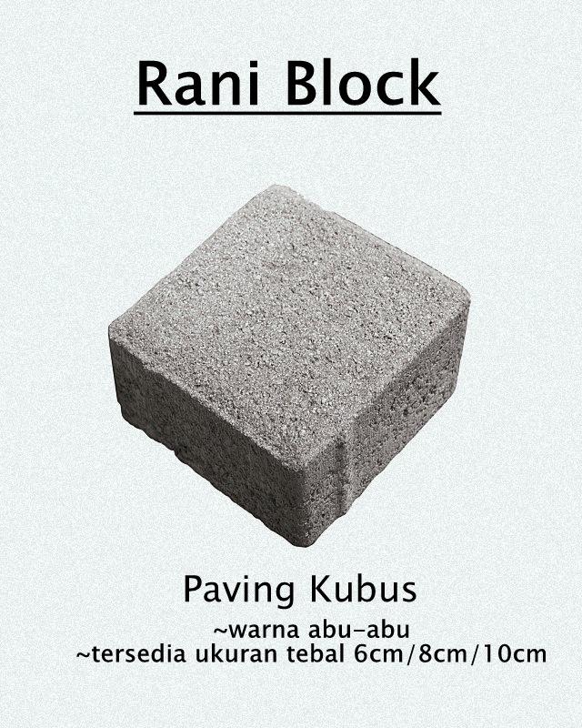 Paving Block Kuat dan Murah