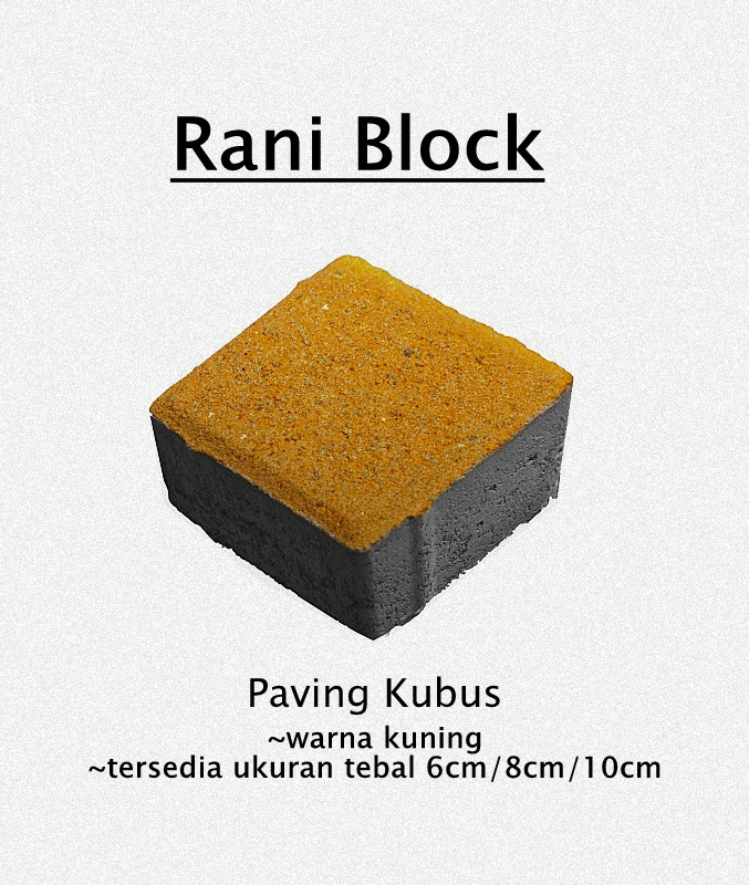 Paving Block Kubus Rani Block