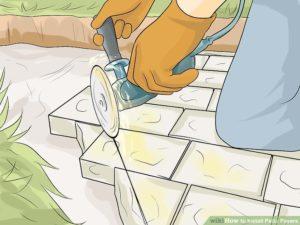 Pemotongan Paving Block Sesuai Kebutuhan