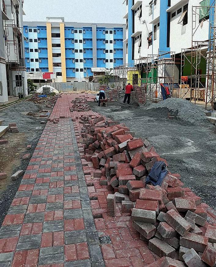 Pemasangan Paving Block Model Bata - Paving Block Indonesia