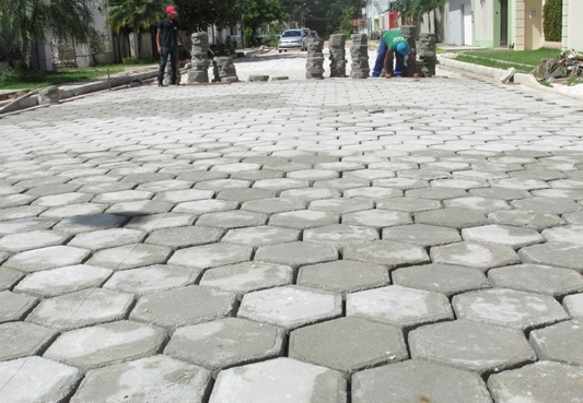 Paving Block Hexagon (Segienam)