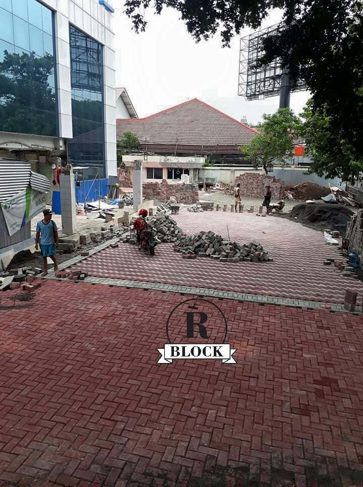 Paving Block Model Bata Rani Block