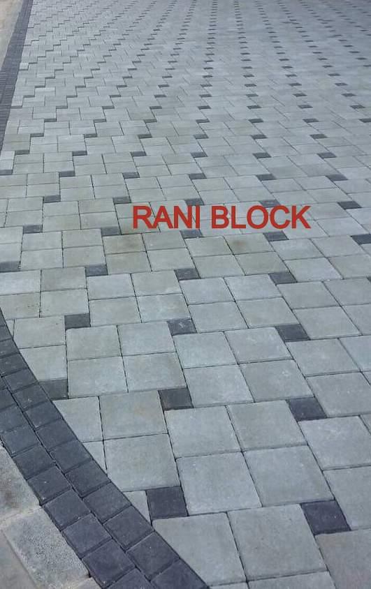 Paving Block Model Ubin dan Kubus