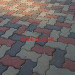 Paving Block Model Cacing atau Unipave