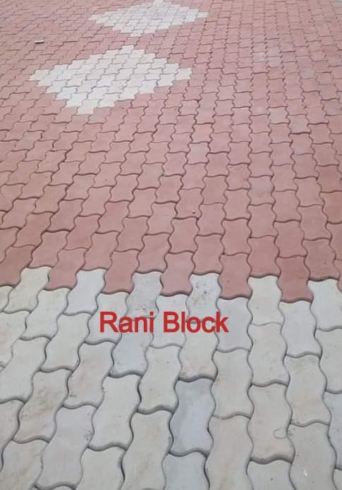 Paving Block Cacing atau Unipave