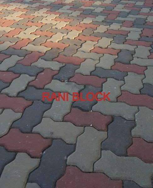 Paving Block Model Cacing atau Unipave