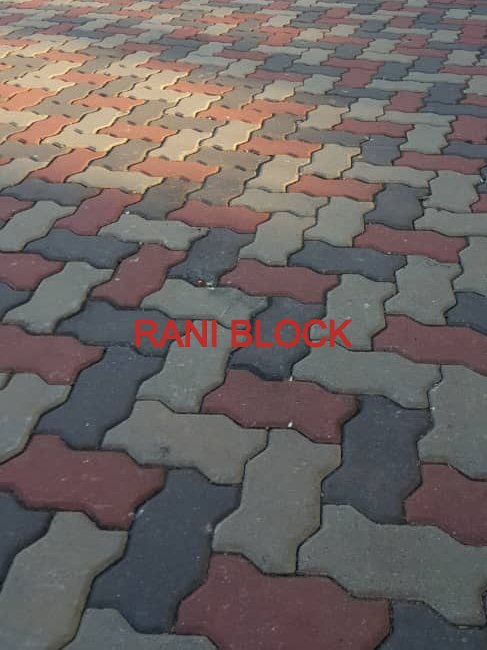 Paving Block Unipave (Cacing)