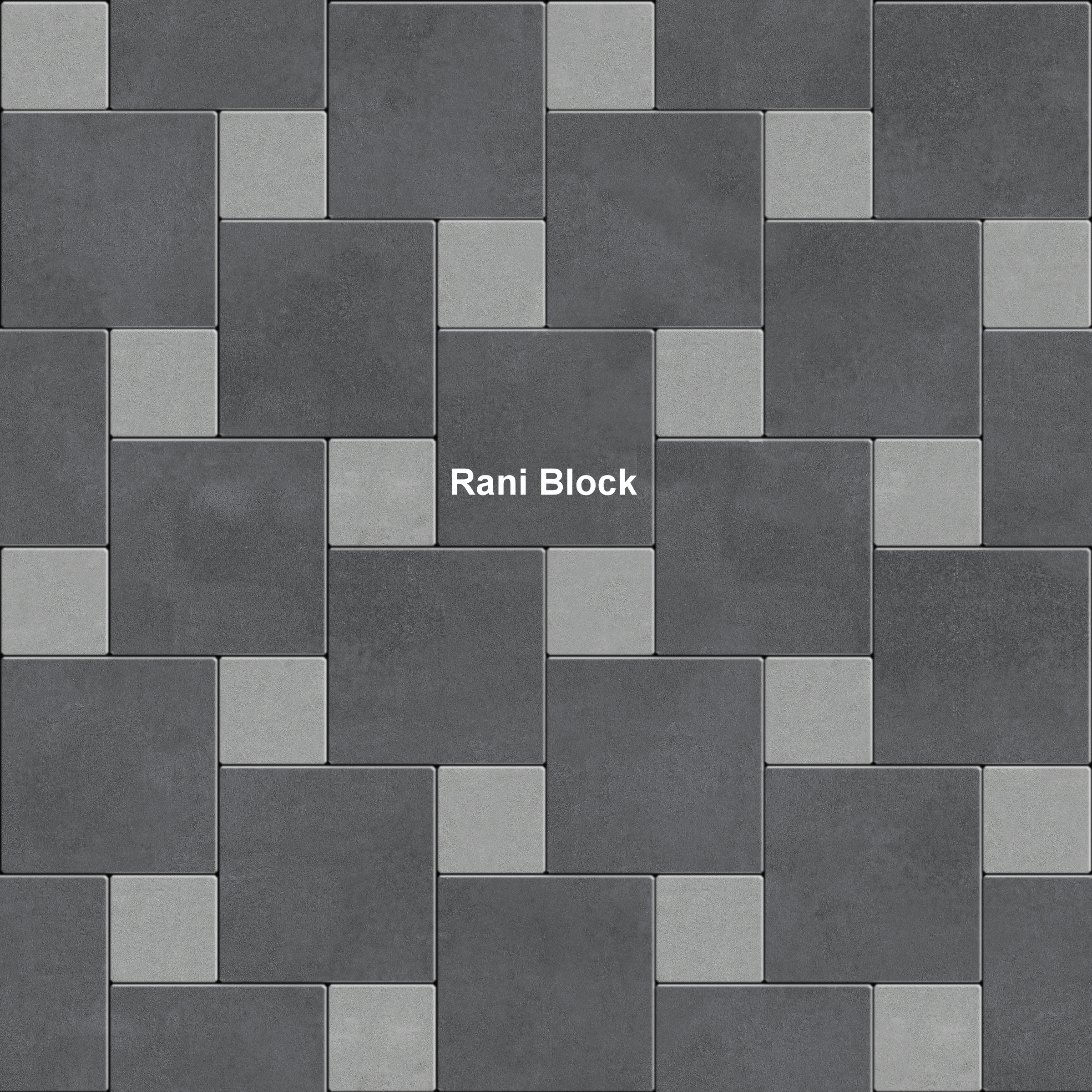 Desain pemasangan paving block