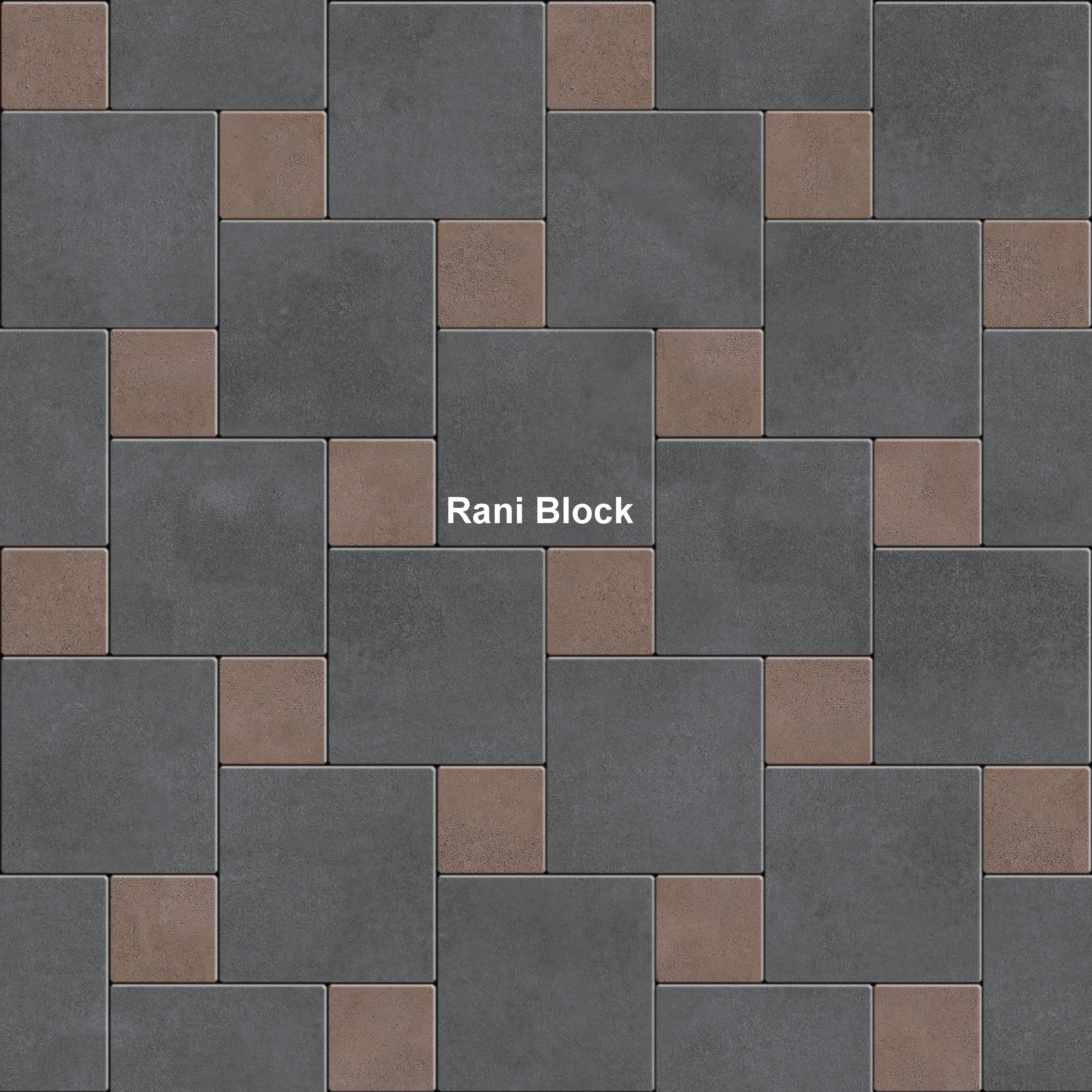 Pola pemasangan paving block