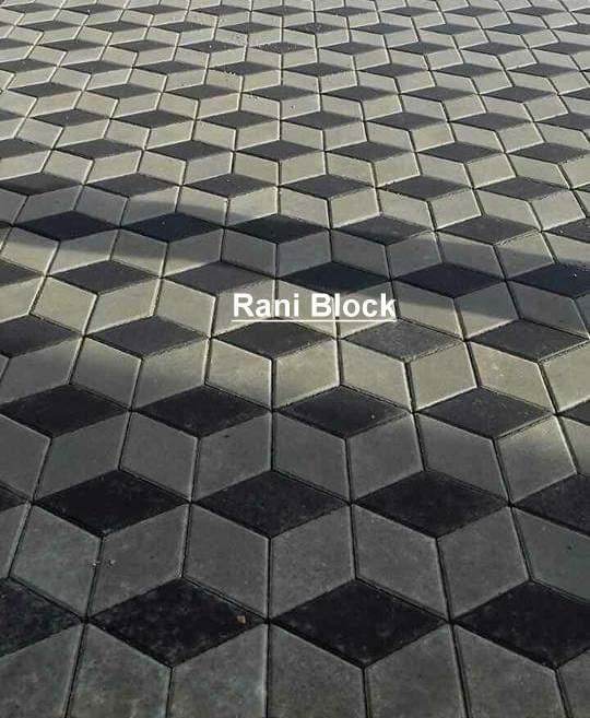 Paving Block 3 Dimensi, Paving Block Terbaru.