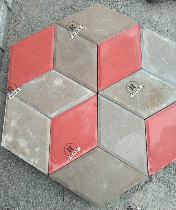 Paving Block 3 Dimensi produksi Rani Block
